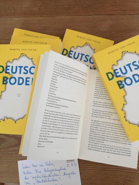 Deutschboden vertaling in Duitsland!