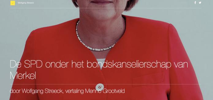De SPD onder het bondskanselierschap van Merkel
