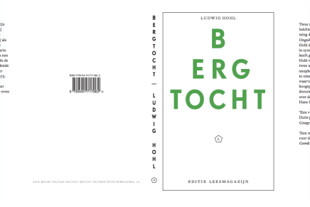 Nieuwe druk Bergtocht, van Ludwig Hohl