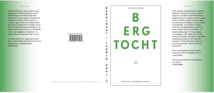 Bergtocht Ludwig Hohl Leesmagazijn