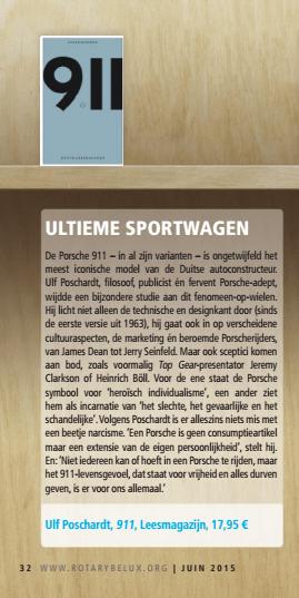 911 Boekenplank Redactie Rotary Contact