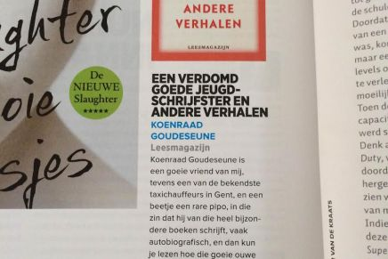 Een verdomd goede jeugdschrijfster en andere verhalen, Herman Brusselmans, Playboy, Juni 2015
