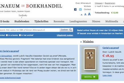 Athenaeum Boekhandel: Leesfragment: Ludvik Vaculik, Cavia's op proef