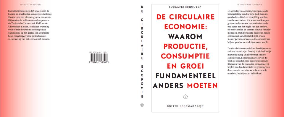 Circulaire Economie concept front Connie Nijman @Leesmagazijn