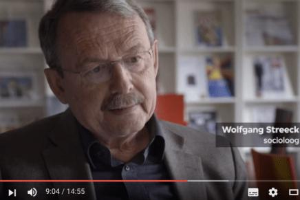 Tegenlicht Kort Wolfgang Streeck en Dijsselbloem en Varoufakis; Europa resetten?