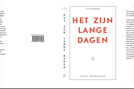 Cult klassieker _  Luc Boudens; Het zijn lange dagen, concept cover.