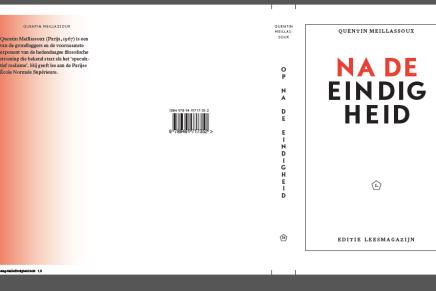 Na de Eindigheid, Quentin Meillassoux, cover ontwerp v1