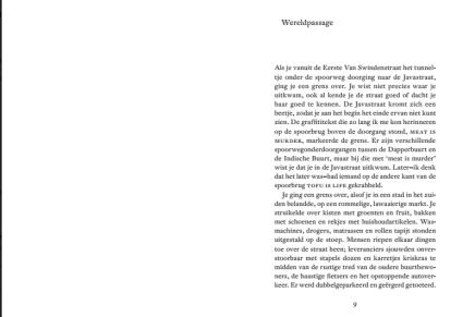 Het failliet van de Javastraat, Jacqueline Schoemaker – fragment