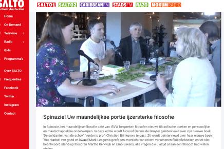 Het Retorische Weten van Emanuel Rutten besproken in: SALTO /ISVW Spinazie!