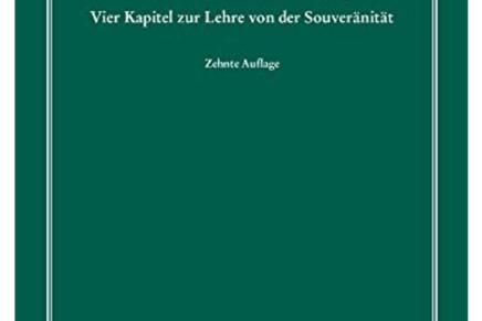 Politieke Theologie, Carl Schmitt in vertaling.