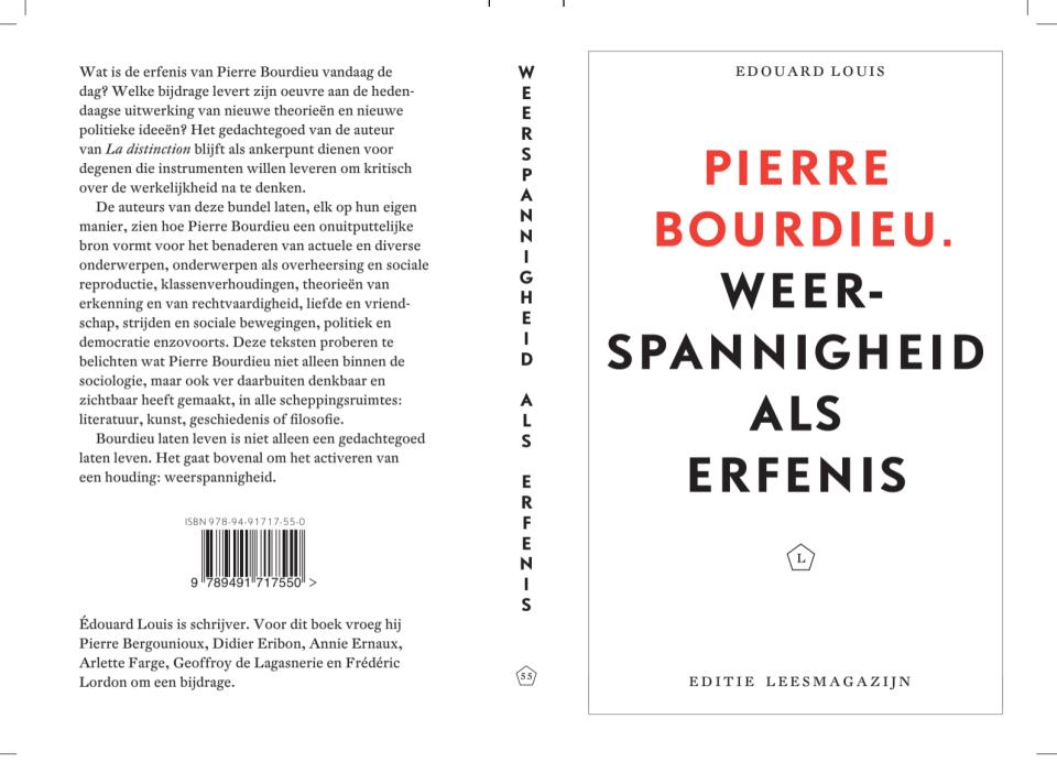 cover Edouard Louis: Pierre Bourdieu