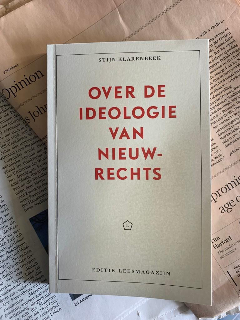 Over de ideologie van nieuw-rechts