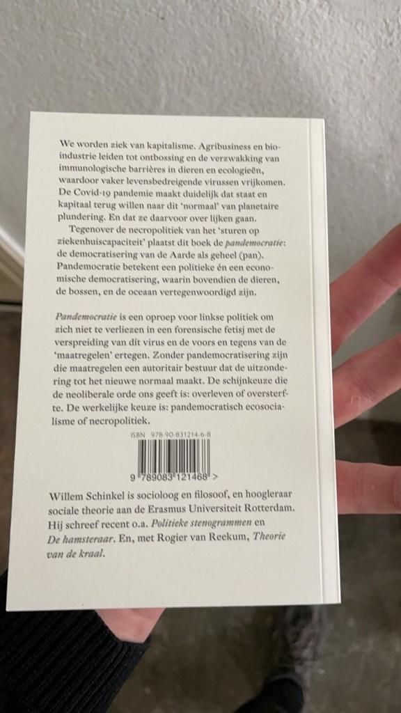 Pandemocratie, Willem Schinkel