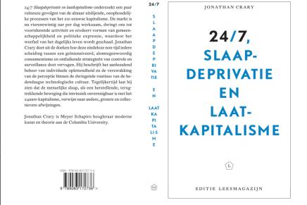 voorbestelling geopend: 24/7 Slaapdeprivatie en laatkapitalisme, Jonathan Crary