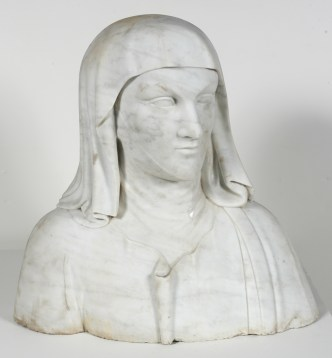 Italy circa 1780 carving of a Florentine woman