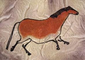"""Lascaux cave horse 18x20"""""""