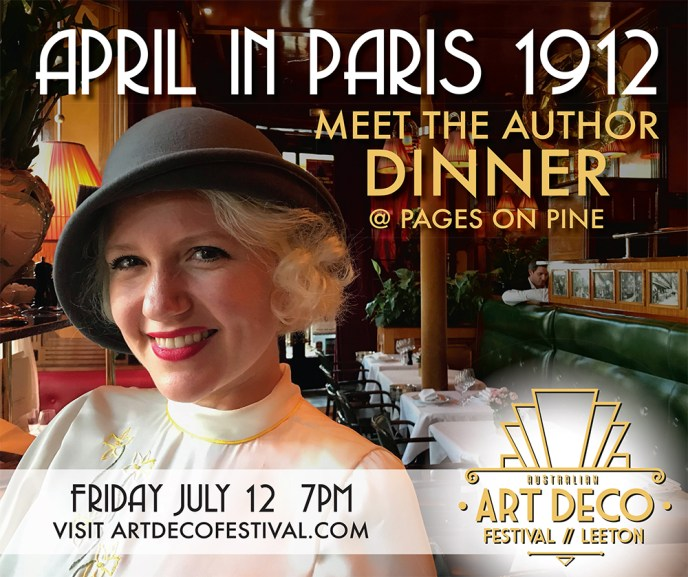 april in paris author dinner pages on pine
