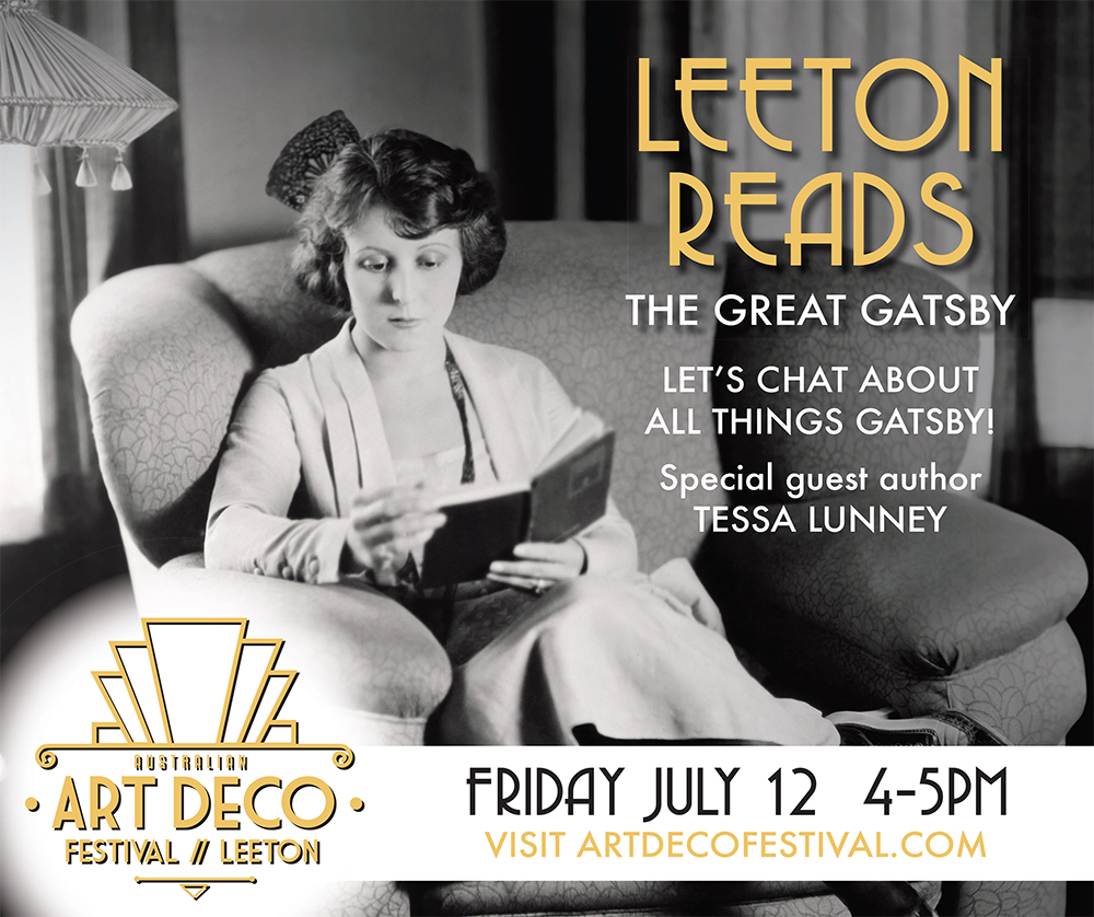 Leeton Reads the great gatsby