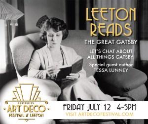 Leeton Reads the great gatsby