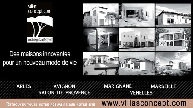 Publicité Villas Concept