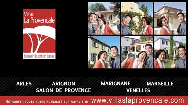 Publicité Villas La Provençale