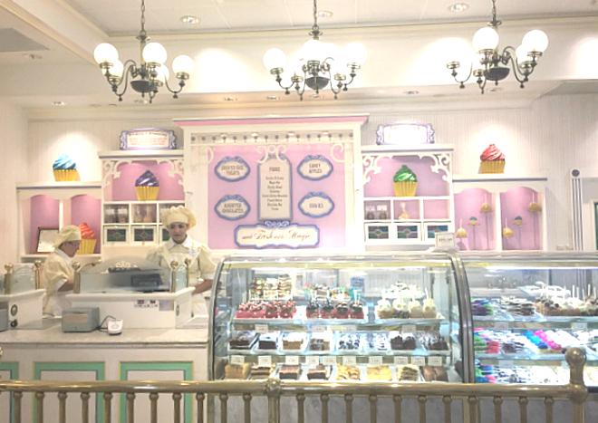 Florida Disneyworld Zuckerbäckerei
