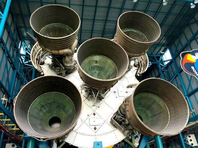 Florida - Rakete Antrieb