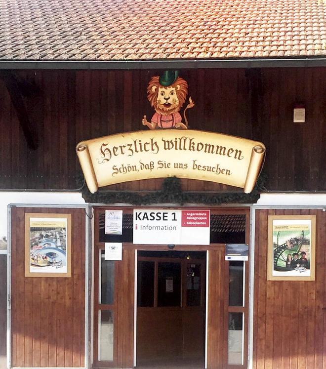Bayernpark Eingang