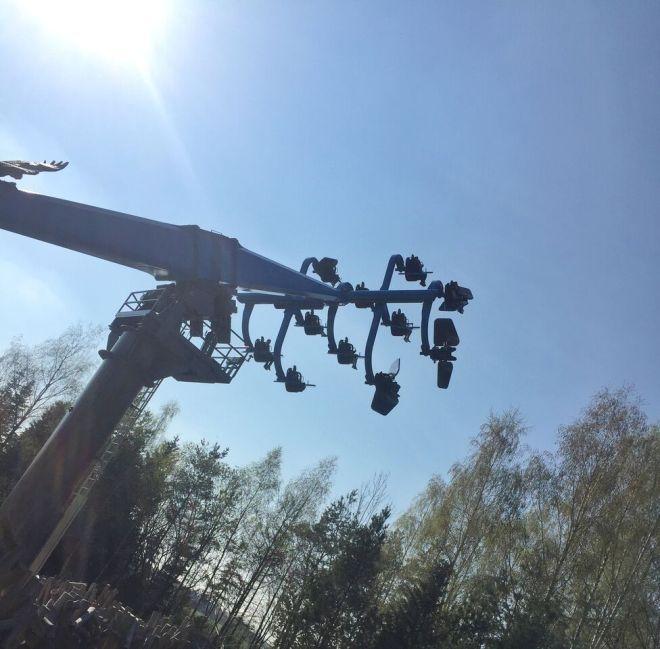 Bayernpark Flug der Adler