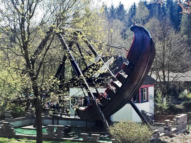 Bayernpark Schaukel