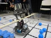 Robot moving into Hang on Bar