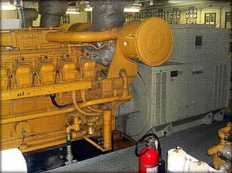 Caterpillar 3516, 2100 kilowatt generator unit