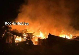 Haïti-Sinistre : Incendie de plusieurs maisons à Jacmel