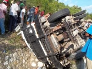 Haïti-Accident : 8 morts et 6 blessés recensés à Petit-Goâve