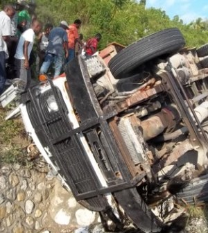 Haïti-Accident : 1 morts et 6 blessés recensés à Carrefour