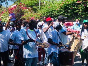 Haïti-Politique : Marche pacifique à Port-au-Prince