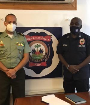 Haïti-Insécurité : La police colombienne vient en aide a Haïti