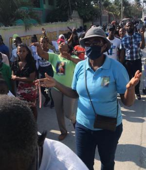 Haïti-Religion: Des chrétiens catholiques lancent l'année de Saint-Joseph