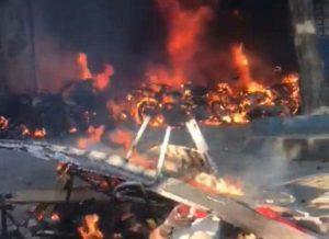 Haïti-Insécurité : Mort d'hommes suivie d'incendie au Commissariat de Léogane