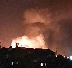 Haïti-Drame : Plusieurs victimes lors de l'explosion d'une micro station de gaz propane à Delmas 32