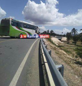 Haïti- Kidnapping : Blocage de la route nationale #3 à hauteur de Saint-Raphaël