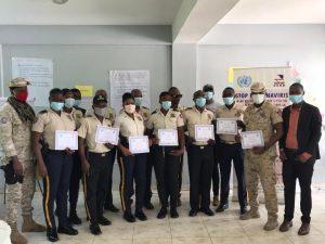 Cayes (Sud) - Covid-19 : Des policiers formés sur les droits des détenus (es) et les gestes barrières