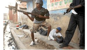 Port-au-Prince : Affrontements à l'entrée Sud de la Capitale