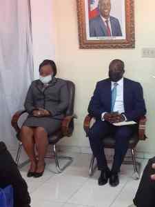 Haïti-Droits Humains : Installation de la nouvelle ministre à la condition féminine