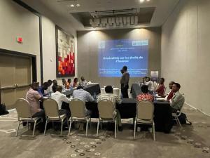 Haïti-Médias : Des journalistes outillés sur les droits humains et leurs rôles en période électorale