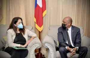 Haïti-Crise : Ariel Henry recontre la nouvelle envoyée des États-Unis