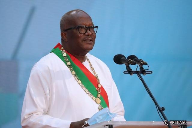 Roch Kaboré investi nouveau président du Faso: «Nous devons poursuivre et renforcer la lutte contre la corruption, les passe-droits et l'incivisme»