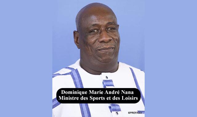 Gouvernement Dabiré II: Dominique Nana, ancien footballeur, nommé ministre des sports et des loisirs