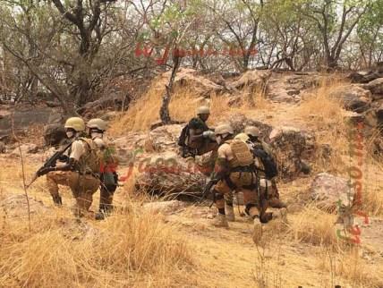 Burkina Faso: Les forces de défense et de sécurité neutralisent des terroristes au Nord et sécurisent des villages à l'Ouest