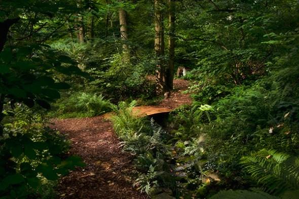 Garden path and bridge
